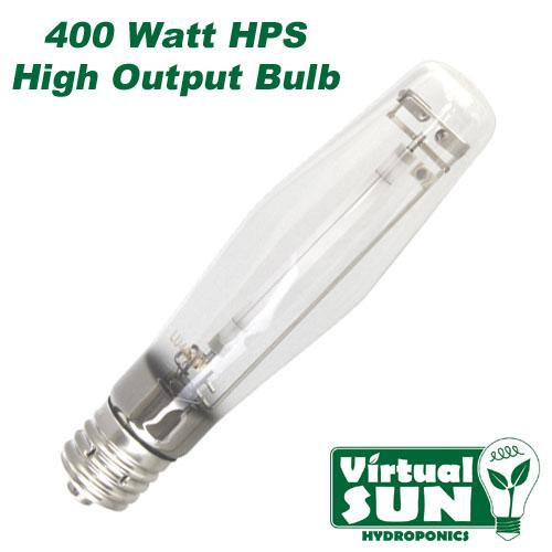 Virtual Sun 400W HPS High Pressure Sodium Grow Lamp Light Bulb - 400 Watt