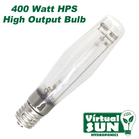 Virtual Sun 400W HPS High Pressure Sodium Grow Lamp Light Bulb - 400 Watt