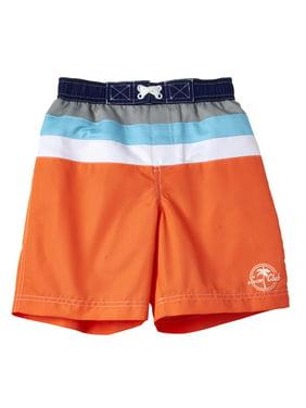 62e7e3cfea Product Image WIPPETTE KIDS Colorblock Stripe Swim Trunks (Baby Boys &  Toddler Boys)