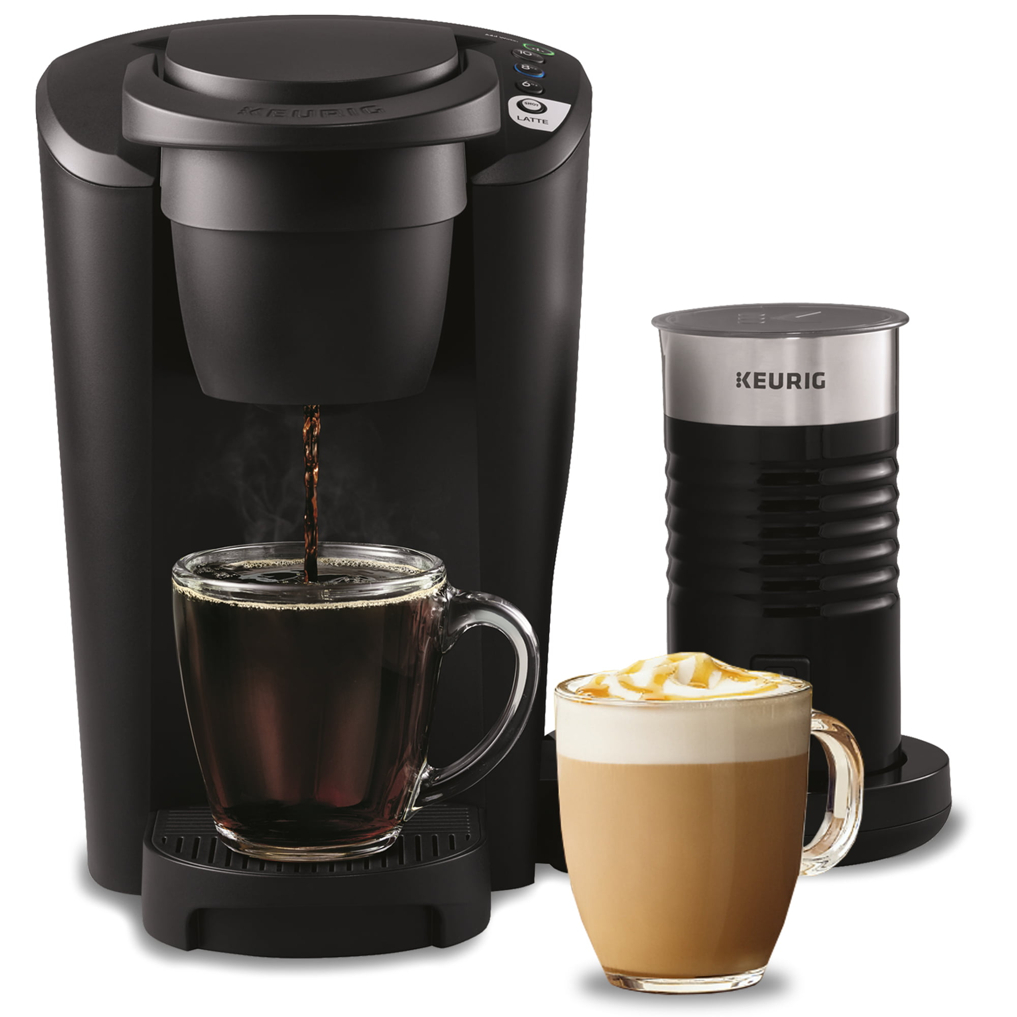 Keurig K-Latte Coffee Maker With Milk Frother, Compatible