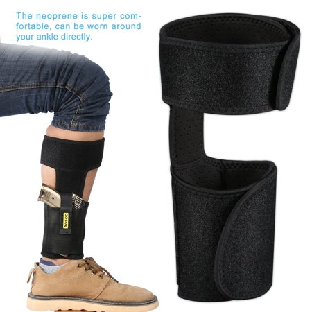 WALFRONT Invisible Carry Ankle Gun Holster Leg Holster For Glock 26 27 42 43 Pistol