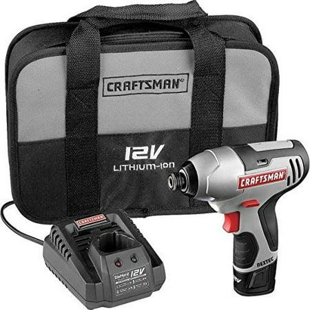 Craftsman 17428 Nextec 12-volt Cordless Compact 1/4