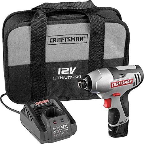 """Craftsman 17428 Nextec 12-volt Cordless Compact 1/4"""" Impact Driver --P#EWT43 65234R3FA411767"""