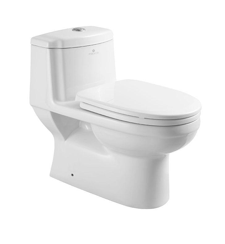 Amazing Fresca Ftl2222 Dorado One Piece Dual Flush Toilet With Soft Close Seat Andrewgaddart Wooden Chair Designs For Living Room Andrewgaddartcom