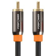 FosPower RCA Male to RCA Male S/PDIF Digital Audio Coax Cable