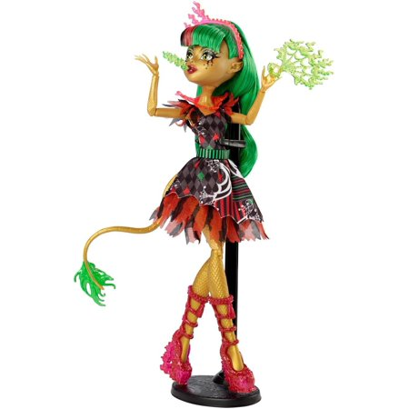 Freak du Chic Jinafire Long Doll, The ultimate skel-ebration of freaky flaws, the Freak du Chic dance will be the monster bash to end all bashes By Monster High (Monster High All Boy Dolls)