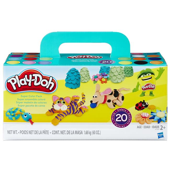 Play-Doh Super Color Pack Includes 20 Different Colors!