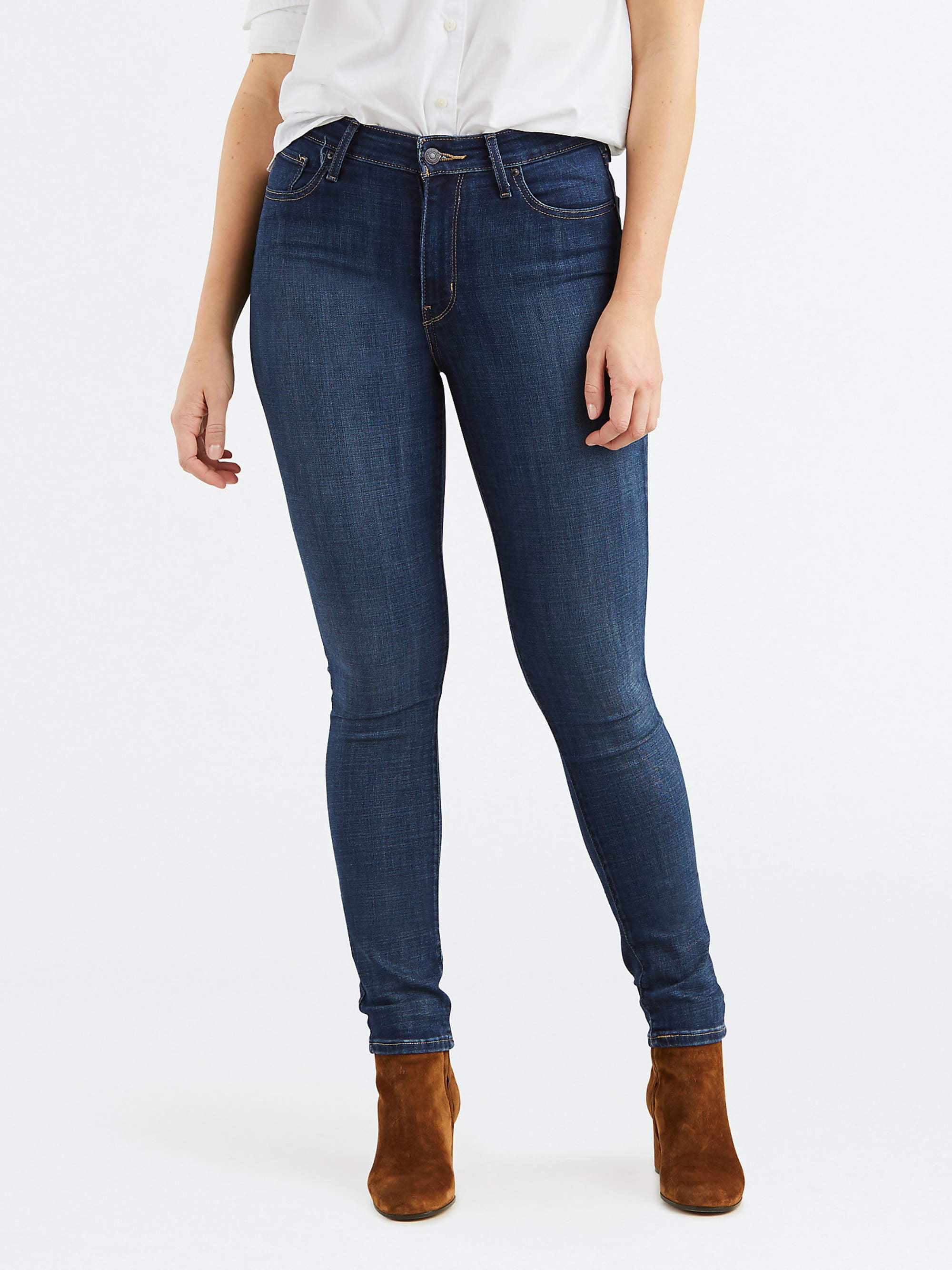 e86fb98cd9da Levi's - Levi's Women's 721 High Rise Skinny Jeans - Walmart.com