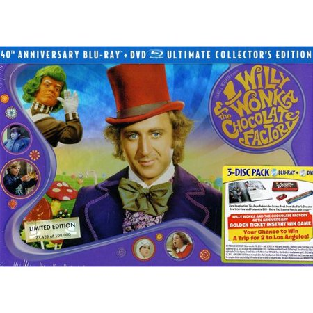 Willy Wonka And The Chocolate Factory: Ultimate Collector's Edition (Blu-ray + DVD) (Widescreen) - Willy Wonka Outfit