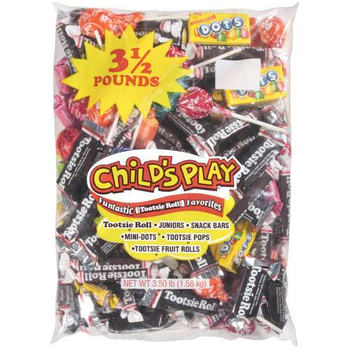 Childs Play Candy, 3.50 lbs by Tootsie Roll
