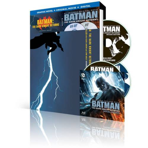 Batman: The Dark Knight Returns (Graphic Novel + Blu-ray + DVD + Digital HD With UltraViolet)