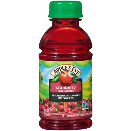 Apple & Eve On The Go, Cranberry Juice Cocktail, 8oz (Pack of 24) ()