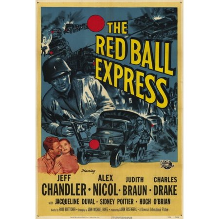Red Ball Express Movie Poster Print (27 x 40)