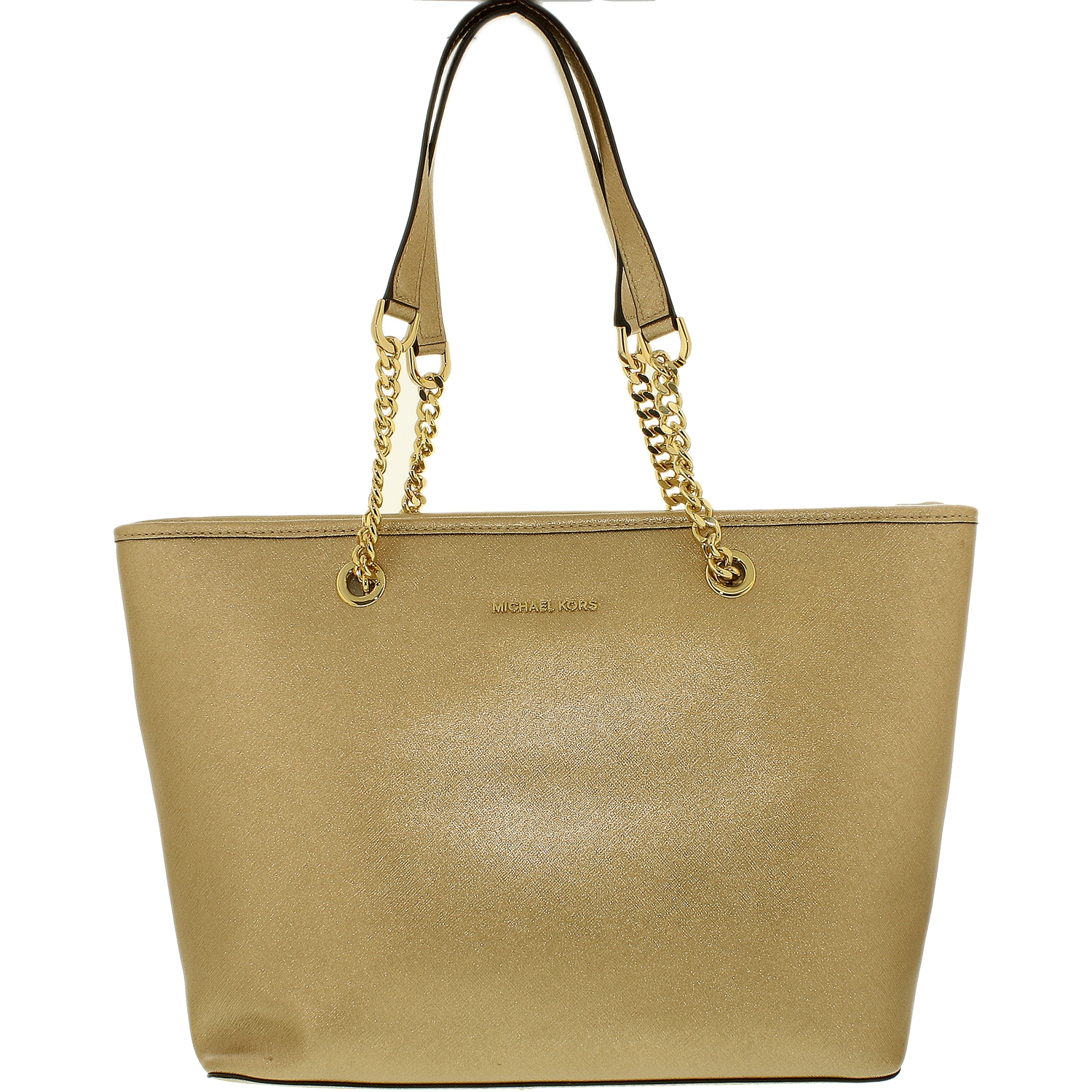 Michael Kors Women's Jet Set Travel Saffiano Leather Top-...