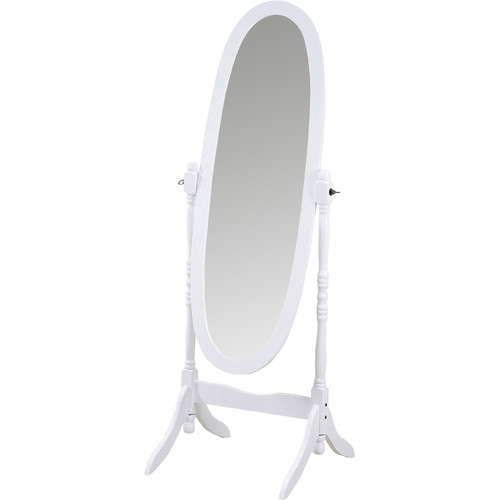 Roundhill Furniture Traditional Floor Cheval Mirror by Roundhill Furniture