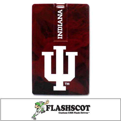 Indiana Hoosiers iCard USB Drive - 8GB