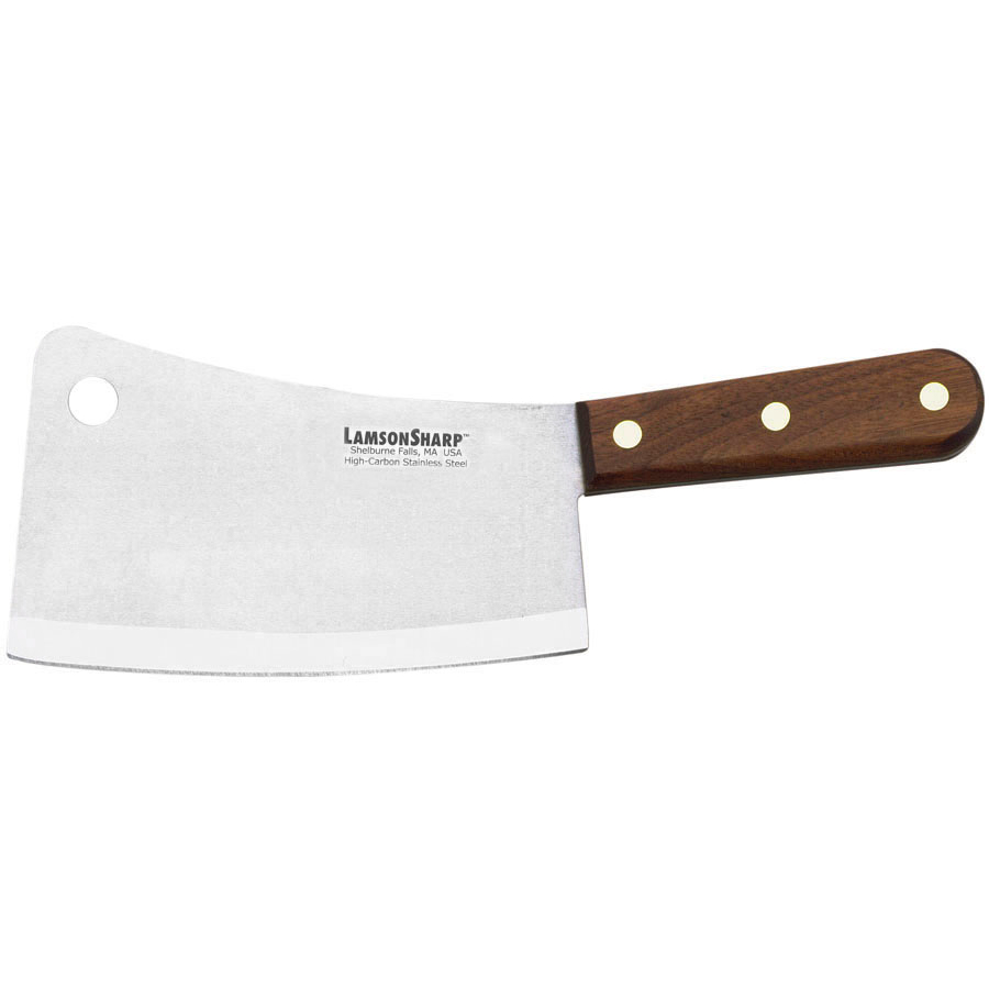 "LamsonSharp Pro 33100 7"" Meat Cleaver by Lamson and Goodnow"