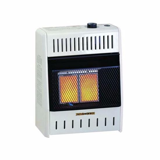 Procom MNSD2TPA Dual NATURAL/PROPANE GAS Vent-Free Heater...