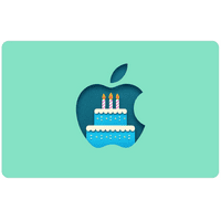 App Store & iTunes Gift Card to Birthday [Email Delivery]