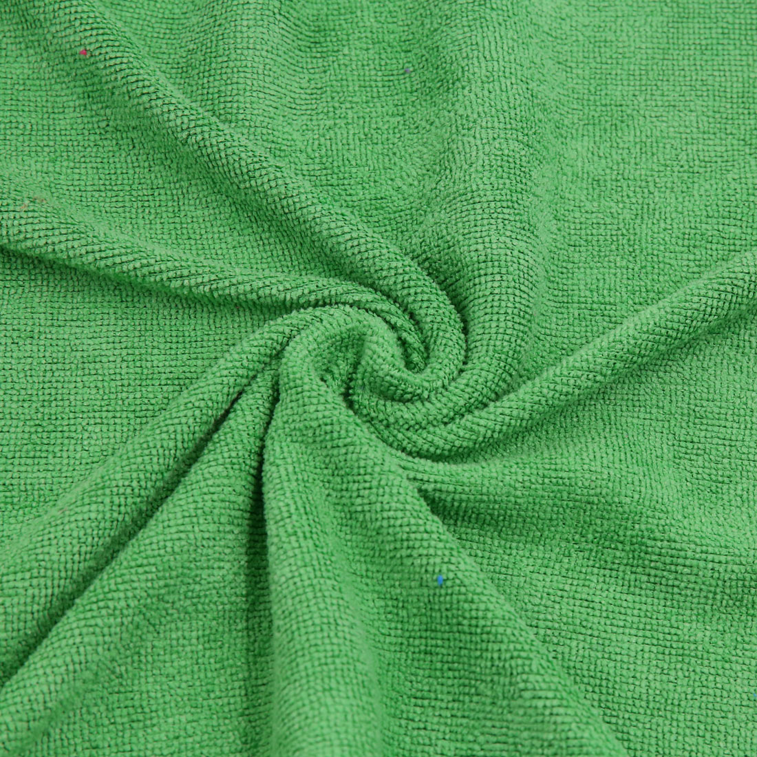 3pcs 250gsm 65 x 33cm Blue Green Coffee Color Microfiber Cleaning Towel for Car - image 2 of 7
