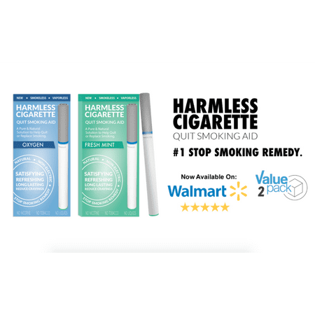 Harmless Cigarette 4 Week Quit Kit / Stop Smoking Aid / Includes FREE Quit Smoking Support Guide.