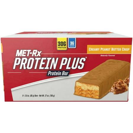 Metrx Protein Plus Creamy Peanut Butter Crisp  3 Oz  9 Count