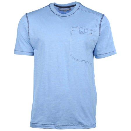 Men's Button Pocket Casual T-Shirt