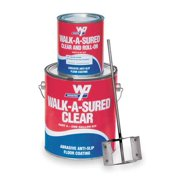 Wooster Products Anti-Slip Floor Coating, Clear WAS.CLR