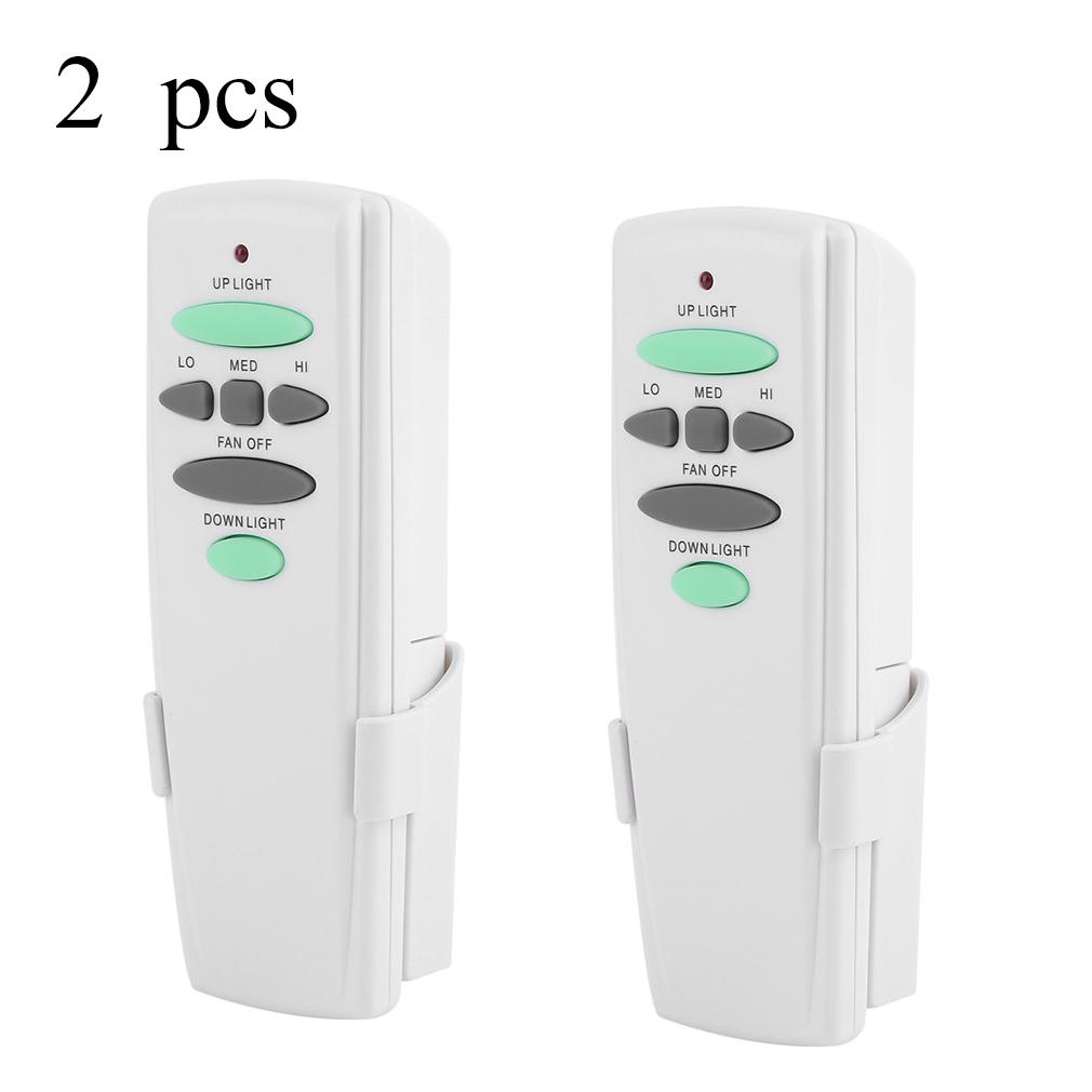 2PCS Handhold Ceiling Fan Remote Control Kit Transmitter For Hampton Bay UC7078T by