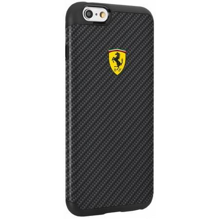 Ferrari iPhone 6/6S Plus Shockproof Carbon (Ferrari Case)