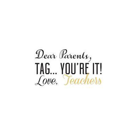Dear Parents, Tag You're It: Funny Dear Parents, Tag You're It ! Love Teachers Notebook - Cool Summer Doodle Diary Book Gift from High School or Co (Appropriate High School Graduation Gift From Parents)