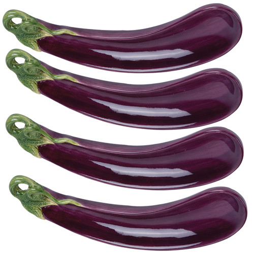 Kaldun & Bogle Giardino Botticelli Eggplant Divided Serving Dish (Set of 4)