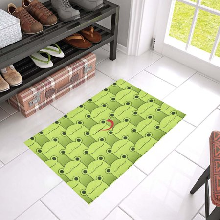 MKHERT Frog Doormat Rug Home Decor Floor Mat Bath Mat 23.6x15.7 inch