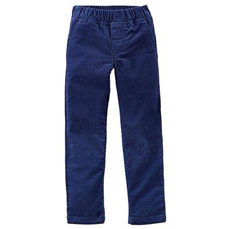 Baby Girls' Stretch Corduroy Pants - Navy - 6 (Old Navy Girls Corduroy)