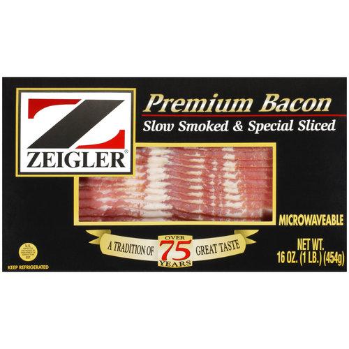 Zeigler Premium Bacon, 16 oz