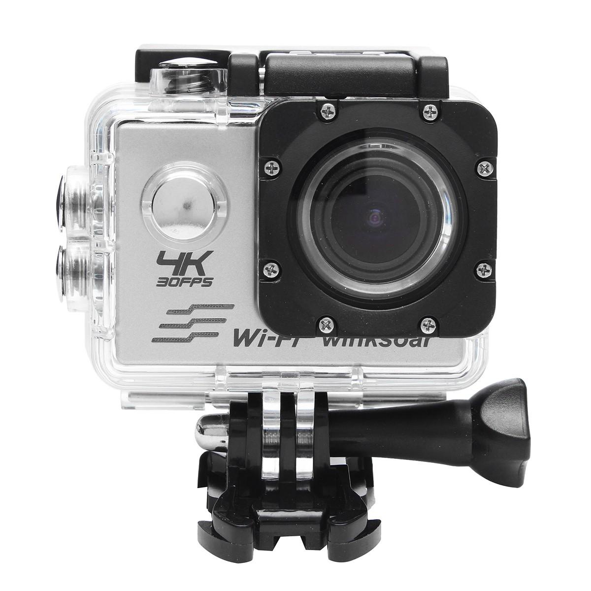 Winksoar SJ8000 Waterproof 4K HD Sports Action Mini DV Camera WiFi 2.0 LCD 170° Wide Angle 2-inch Screen Display