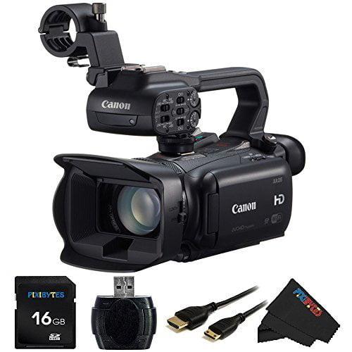 "Canon XA25 HD Camcorder- 20X, 1080/60P, SDI Output, WiFi, 2.91MP, 3.5"" OLED TP, Dual SD,XLR"