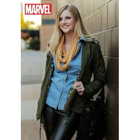Marvel Women's Cargo Fashion Jacket
