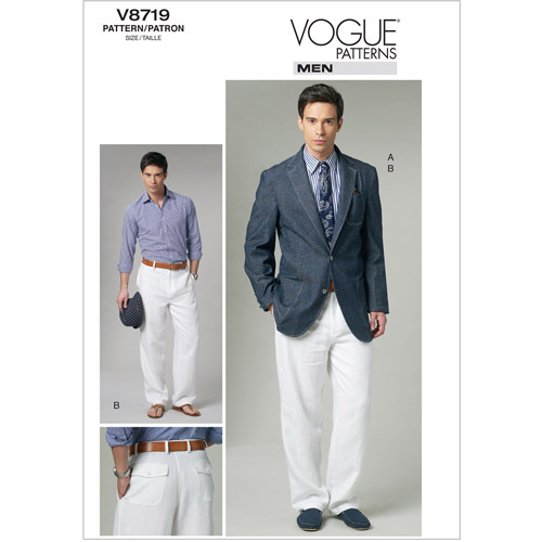 MenS Jacket and Pants-MUU (34-36-38-40)
