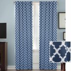 Mainstays Thermal Print Woven Curtain Panels Set Of 2