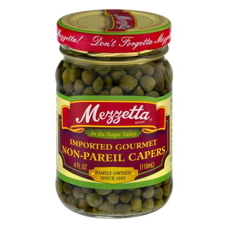 Mezzetta Imported Gourmet Non Pareil Capers  4 0 Fl Oz