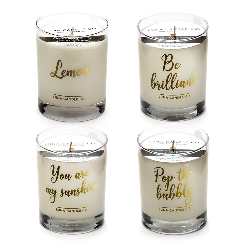 7 oz. glass Mother/'s Day Gift  Gift for Her Bellini Candle
