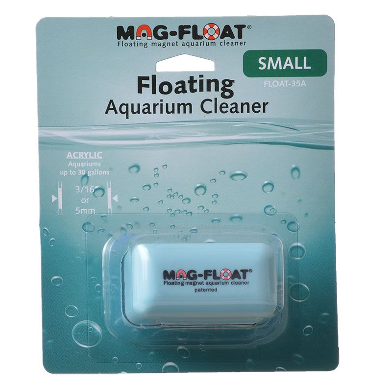Mag Float Floating Magnetic Aquarium Cleaner Acrylic Small (30 Gallons) by Gulfstream Tropical Aquarium