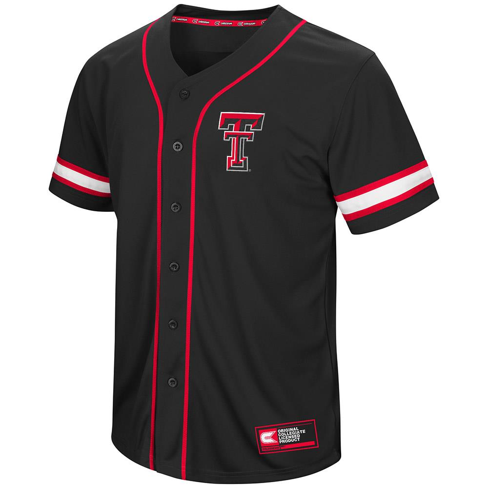 Mens Texas Tech Red Raiders Baseball Jersey - S