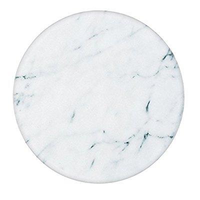 fox run marble lazy susan white