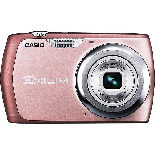 "Casio Exilim EX-S8 Pink 12MP Digital Camera, 4X Optical Zoom, 2.7"" LCD, VGA Video"