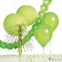 Lime Green Party Decorating Kit