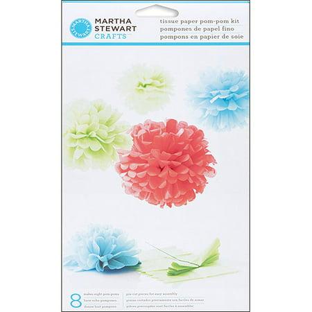 Martha Stewart Modern Festive Tissue Paper Pom-Pom Kit