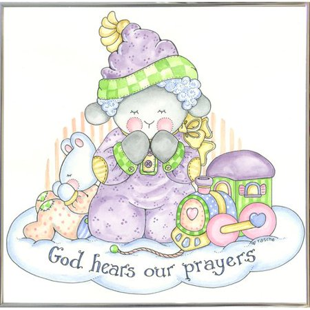 UPC 190217318491 product image for Harriet Bee 'God Hears Our Prayers 2' Graphic Art Print | upcitemdb.com