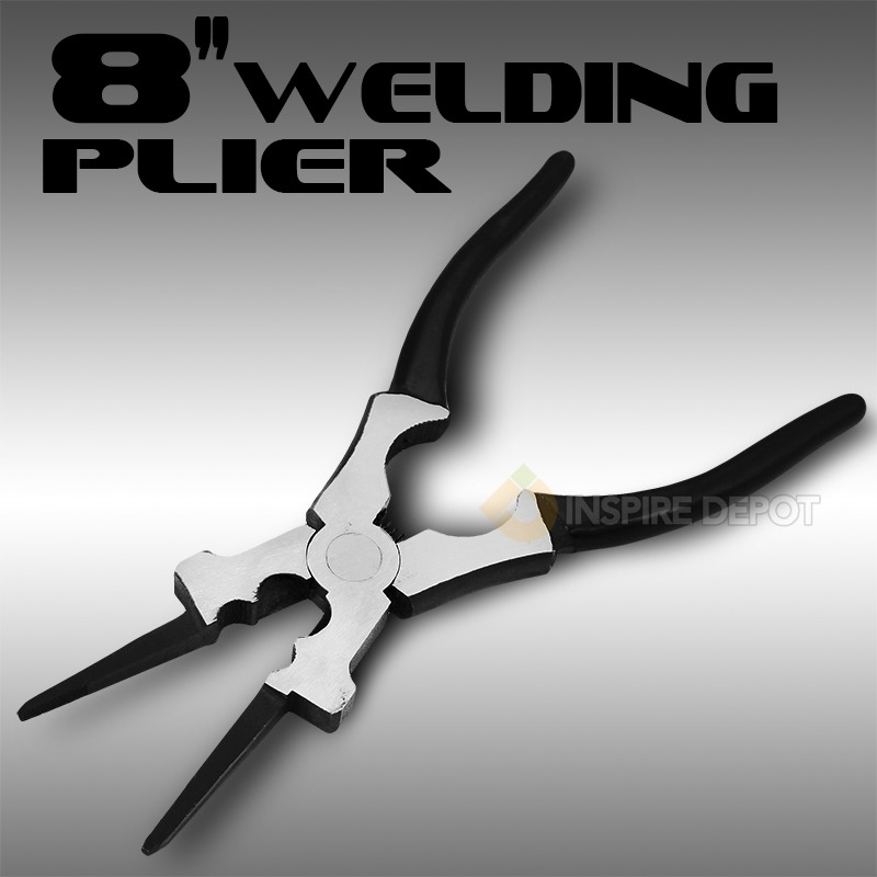 "8"" MIG 8-Way Functions Spatter Removal Cleaning Welding Plier Tool"